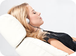 Brainwave entrainment makes meditation easy